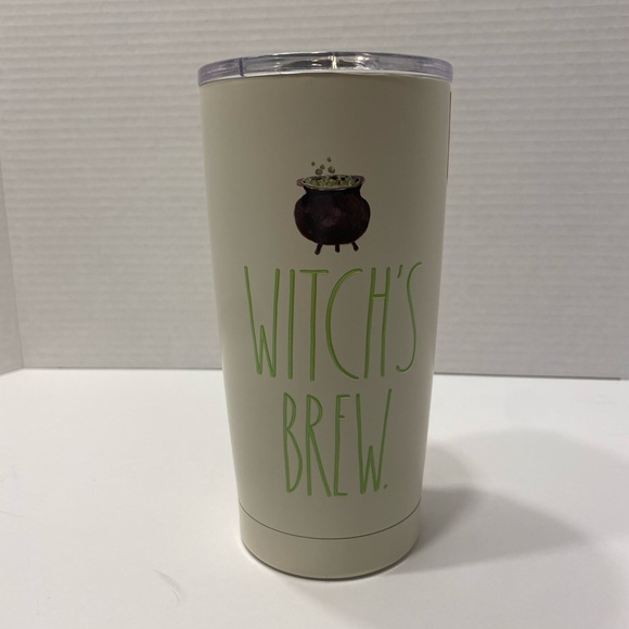 Rae Dunn 17oz. Insulated tumbler (Witch's brew)